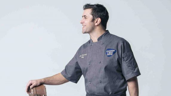 chef scott commings, hells kitchen, freedom beat in downtown grand las vegas